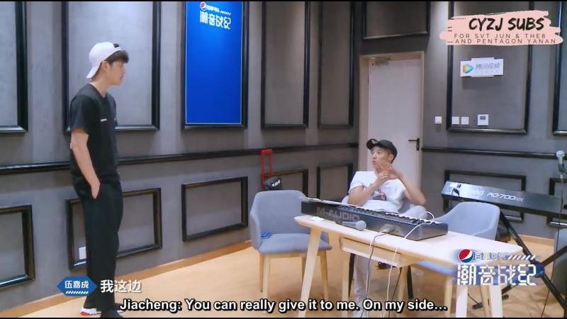 [FULL ENG SUB] 潮音战纪 Chao Yin Zhan Ji _ CYZJ - EP 8 (Seventeen Jun The8, Pentagon Yanan)
