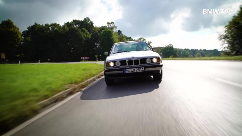 Der BMW 5-reihe (E34) – eine Erfolgsgeschichte. Die dritte Generation.
