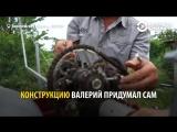 Изобретатель из Воронежской области сам сделал ветрогенератор и обеспечил свой дом бесплатной электороэнергией