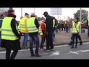 Gros clash entre automobilistes et gilets jaunes Seul contre une centaine de manifestants