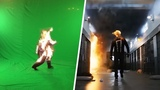 Amazing Before &amp After Hollywood VFX Agents of S.H.I.E.L.D.