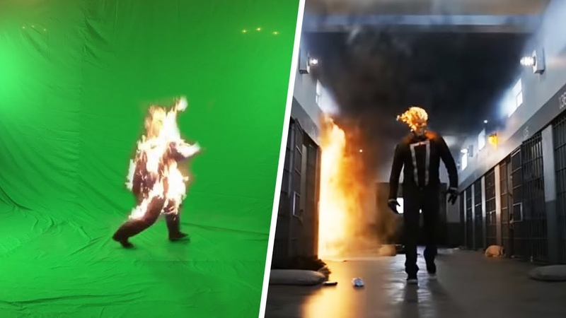 Amazing Before After Hollywood VFX Agents of S.H.I.E.L.D.