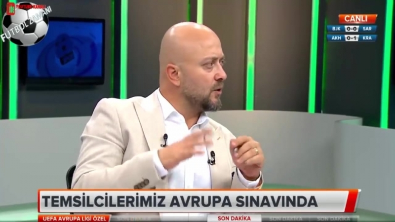Beşiktaş 3-1 Sarpsborg Turgay Demir Maç Anlatımı 20 Eylül 2018