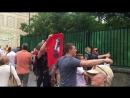 ЧМ Москва Никольская улица Туристы атакуют