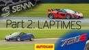 McLaren Senna vs 720S | Part 2: Laptimes | Autocar