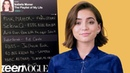 Isabela Moner Creates the Playlist of Her Life Teen Vogue