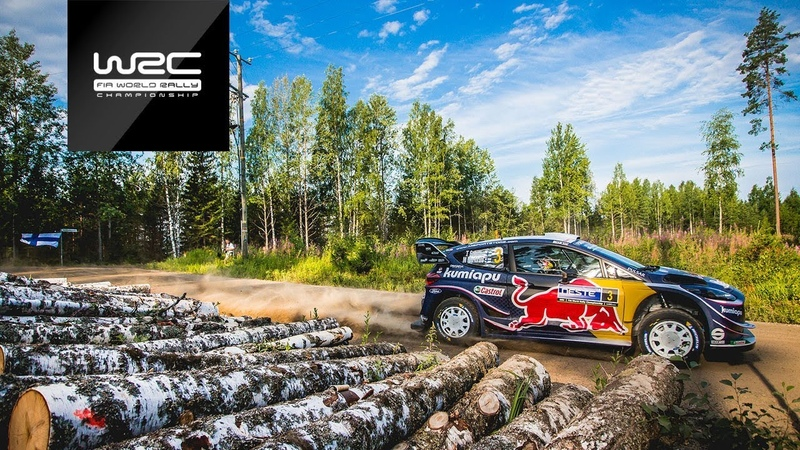 WRC Neste Rally Finland 2018 Shakedown Highlights