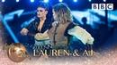 Lauren Steadman and AJ Pritchard Paso Doble to 'Poison' by Nicole Scherzinger - BBC Strictly 2018