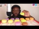 Good Eating ASMR ASMR Eating Macaroons No Talking Crunchy Eating Sounds