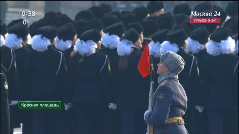 Парад на Красной площади. 7 ноября. Октябрьская революция