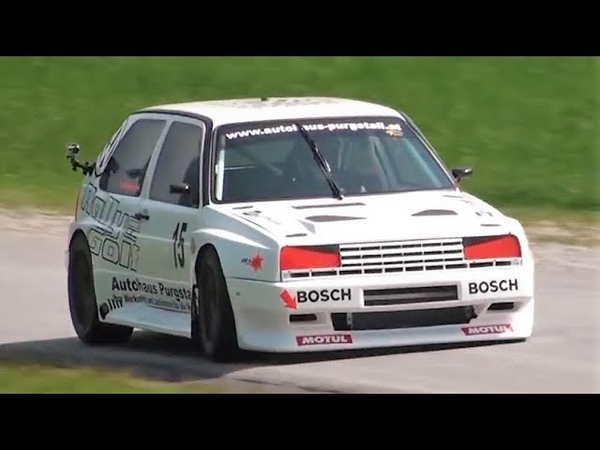 400Hp Vw Golf Mk2 Rallye Turbo Schagerl´s Monster in 2012