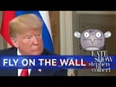 The Fly On The Wall At The Trump-Putin Meeting