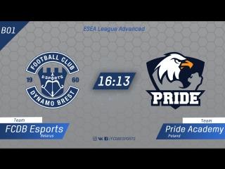FCDB vs Pride Academy (BO1) | ESEA League Advanced [Kom]