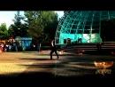 Феникс. Коллектив огненного и светового шоу. Городской парк 16.06.18