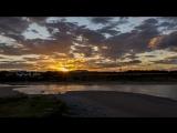 Time-lapse Sunset Aberdeen