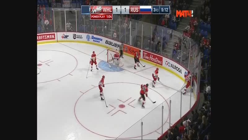 Кирилл Слепец №32 - Хоккей. Молодёжные сборные. Суперсерия 2 игра.