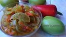 Очень Вкусный Салат из Зеленых помидоров на Зиму Без стерилизации