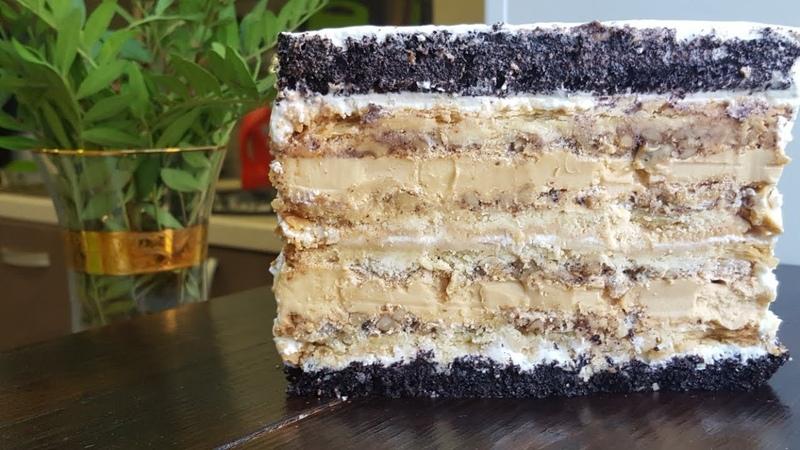 Восхитительный торт КРЕЩАТЫЙ ЯР❤ПРОСТОЙ ПОШАГОВЫЙ РЕЦЕПТ ❤Kreshchatyi Yar cake recipe
