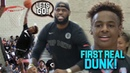 BRONNY James Jr FIRST EVER DUNK IN CHAMPIONSHIP GAME He's ONLY 13!!