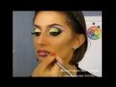 Арабский макияж для шоу
