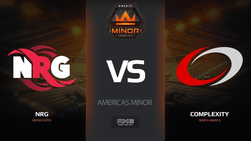 NRG vs compLexity, map 1 cache, Americas Minor – FACEIT Major 20182018 |
