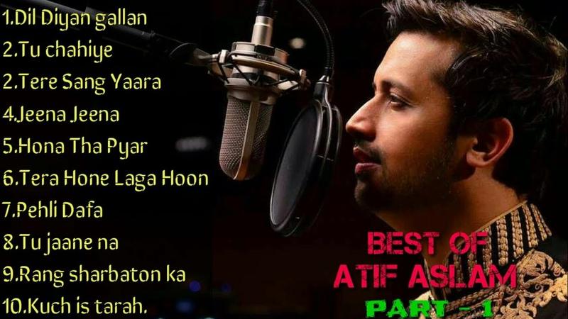 Best Of Atif Aslam | Top 10 Songs | Jukebox 2018 | Top Hits | Part 1 |