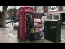 Red telephone boxes tansformed