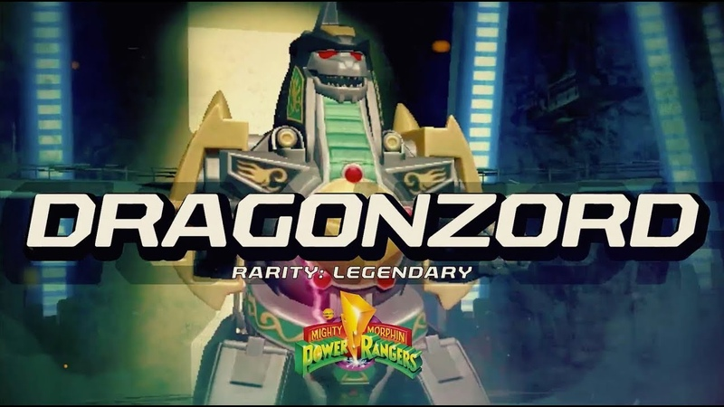 Power Rangers: Legacy Wars (MMPR) Dragonzord (Moveset)