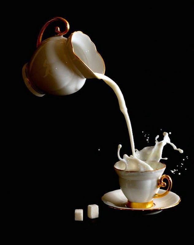 Открытки, живем с огоньком как кофе с молоком открытка