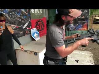 keanu reeves training with taran for john wick chapter 3 - parabellum