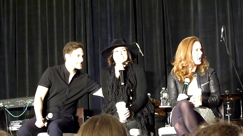 Lana, Bex, and Andrew Gold Panel! OUAT NJ 2018