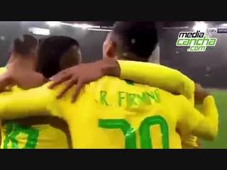 Neymar Jr da el triunfo a Brasil ante Uruguay