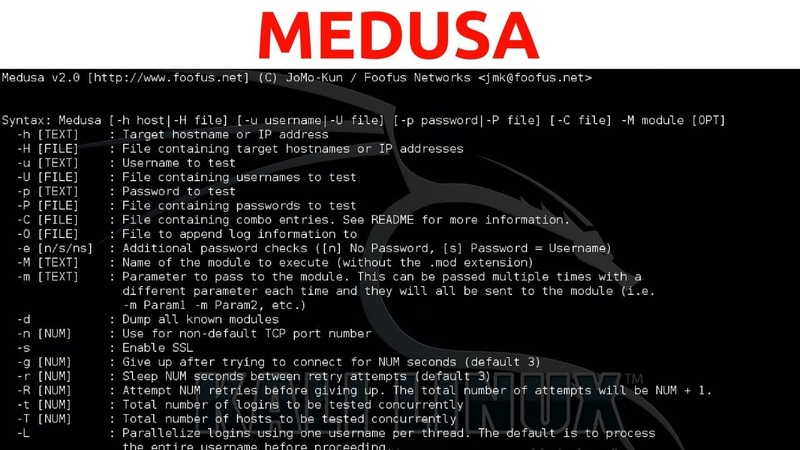 Brute Force Password Cracking With Medusa