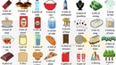 Collective Nouns for THINGS Useful Collective Partitive Nouns for FOOD DRINKS and THINGS