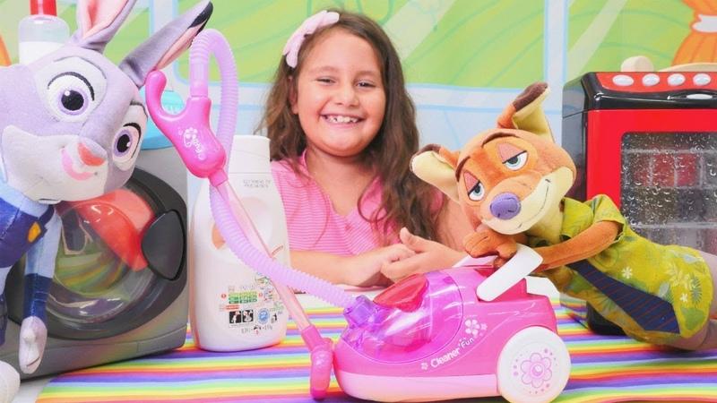 Zootropolis oyuncakları. Uykusunu alamayan Nicke yardım ediyoruz
