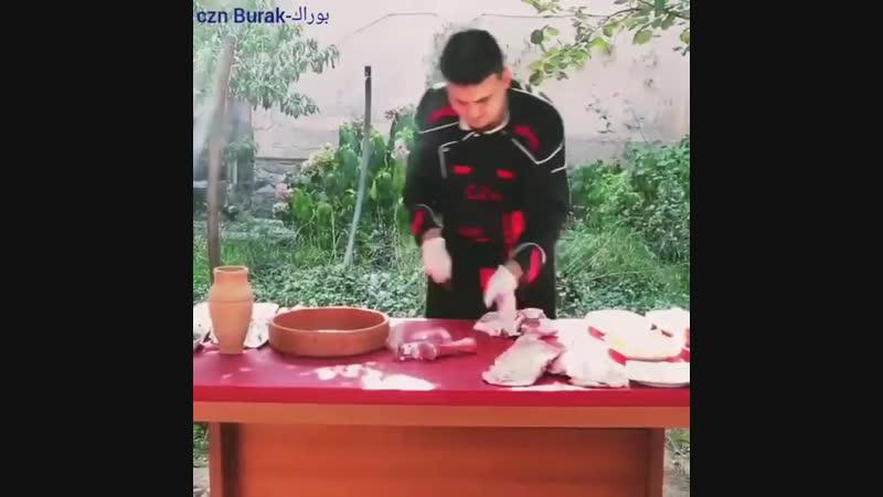 Турецкий шеф-повар Burak Özdemir