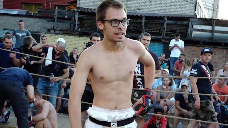 Don't mess with a skiny Russian boy wearing eyeglasses. His parents are Bears. LOL ОЧКАРИК с Братом против Двух Мужиков Бой 2 на 2 !