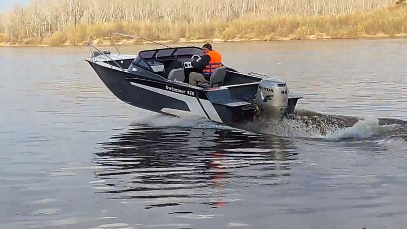 Swimmer 550 инновационная полипропиленовая лодка