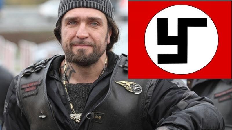 пидор Хирург и его гей-банда Ночные волки вновь бомбят Сталинград