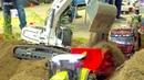 UNIQUE RC CONSTRUCTION-SITE I CAT RC DIGGERI RC TRUCKS AND TRACTOR STUCKING I IG M TB