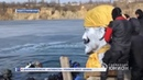 В Днепропетровске «активисты» утопили бюст Ленина. 19.02.2019, Панорама