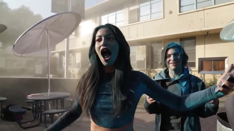 Cindy Kimberly in ARTY's music video Behind The Scenes