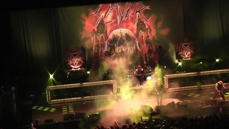 Slayer - Dittohead, Dublin, 3Arena 01112018