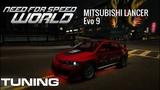 Mitsubishi Lancer Evo 9 NFS WORLD TUNING