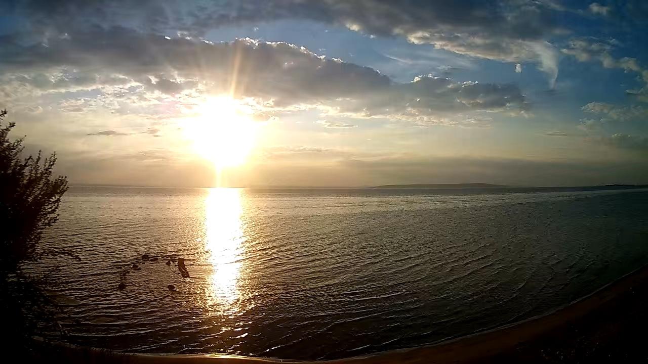 Красота заката Солнца Тольятти Россия