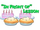 In Front of - Prepositions Lesson for Early Childhood Teachers