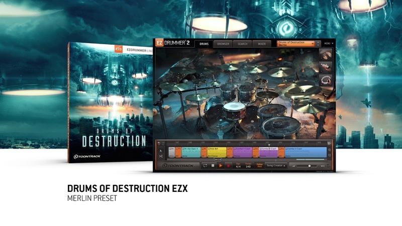 Drums Of Destruction EZX – Merlin Preset