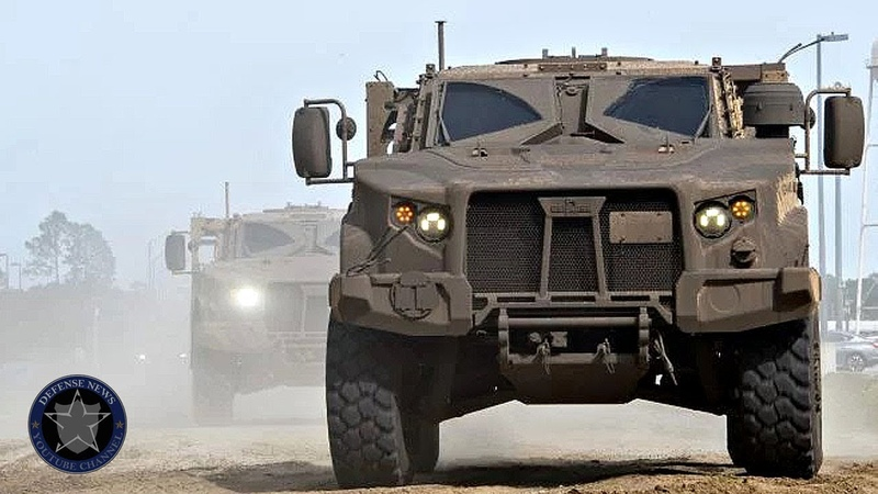 Update for US Army | The new JLTV gives a demonstration of its capabilities