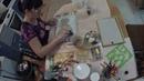 Панно из гипса, ракушек и арганзы. Panels of plaster, shells and arganza.