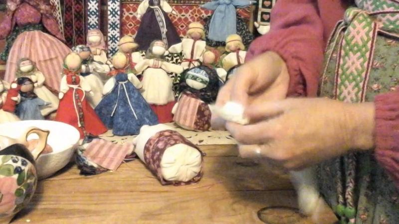 Кукла крупеничка мотанка сделать своими руками